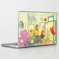 underwater Laptop & iPad Skins featuring underwater by lena brunshtein