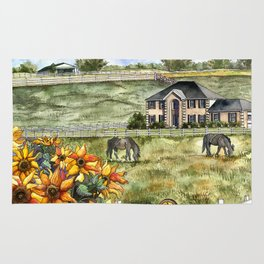 The Horse Ranch Rug