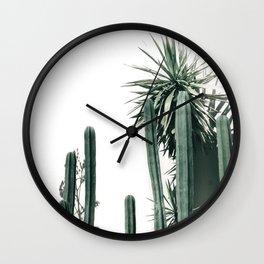 Desert Botanicals Wall Clock