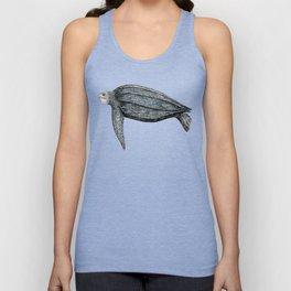 Leatherback turtle (Dermochelys coriacea) Unisex Tank Top