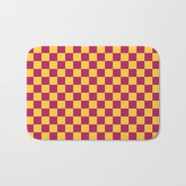 Checkered Pattern VII Bath Mat