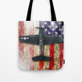 Grumman F6F Hellcat Tote Bag