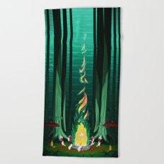 Summer Celebration Beach Towel