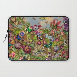 Butterfly Garden Laptop Sleeve