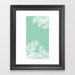summer mint Framed Art Print
