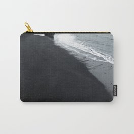 beach of vik in iceland Carry-All Pouch