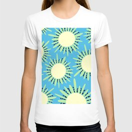 Kiwi Sun Print | Kiwi Print | Summer | Fruity Print | pulps of wood T-shirt