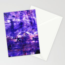 Purple Sunset Stationery Cards