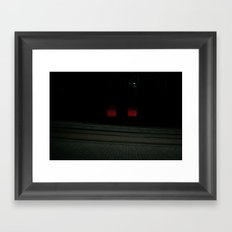 Surface Tension: Edinburgh Centre Framed Art Print