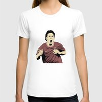 messi T-shirts featuring Messi by Renan Lacerda
