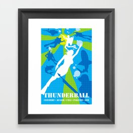 James Bond Golden Era Series :: Thunderball Framed Art Print