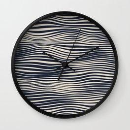 Waving Lines Wall Clock