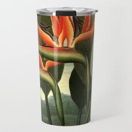 Birds of Paradise : Temple of Flora Travel Mug