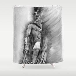 Greek God Shower Curtain