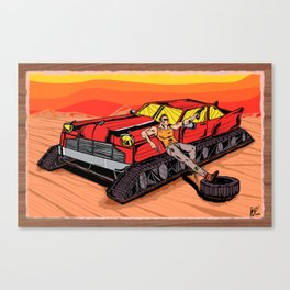 All Terrain: Desert Canvas Print