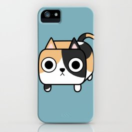 Cat Loaf - Calico Kitty iPhone Case