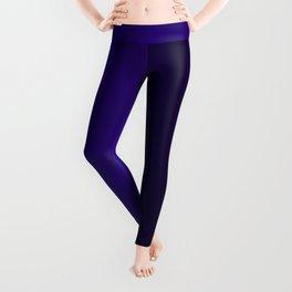 Black and Dark Purple Gradient 064 Leggings