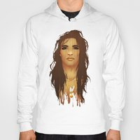 native american Hoodies featuring Native American by Kimball Gray