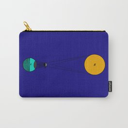 Solar Eclipse Illustrated Carry-All Pouch
