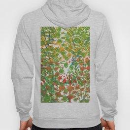 Green Flowers Hoody