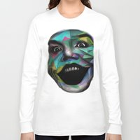 joker Long Sleeve T-shirts featuring Joker by Urban Artist