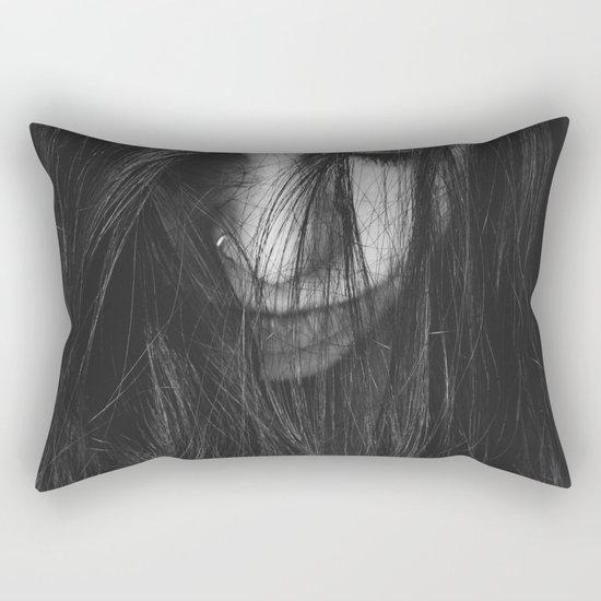 Dark Girl Rectangular Pillow