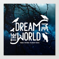 Dream me the world v2 Canvas Print