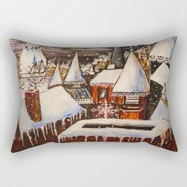 To All a Good Night Rectangular Pillow
