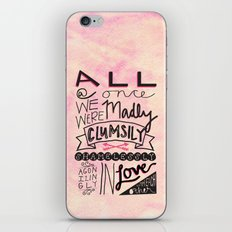 All At Once iPhone & iPod Skin
