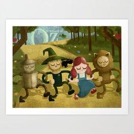 Wizard of Oz fan art Art Print