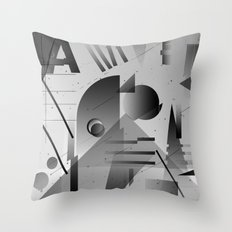 Gradients Throw Pillow