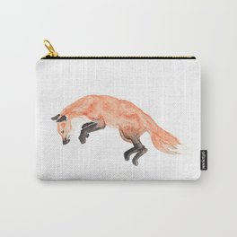 Les Animaux: Red Fox Carry-All Pouch
