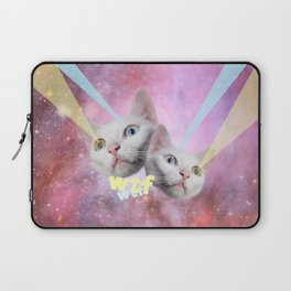WTF Laser Cats Laptop Sleeve