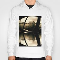cityscape Hoodies featuring Cityscape by sysneye