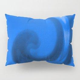 Blue tie dye Pillow Sham