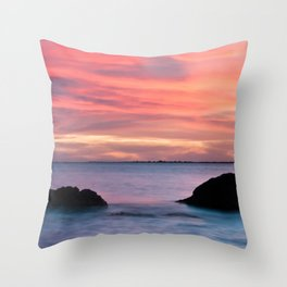 Natural Watercolors Throw Pillow
