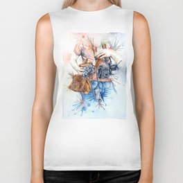 The Photographer Biker Tank