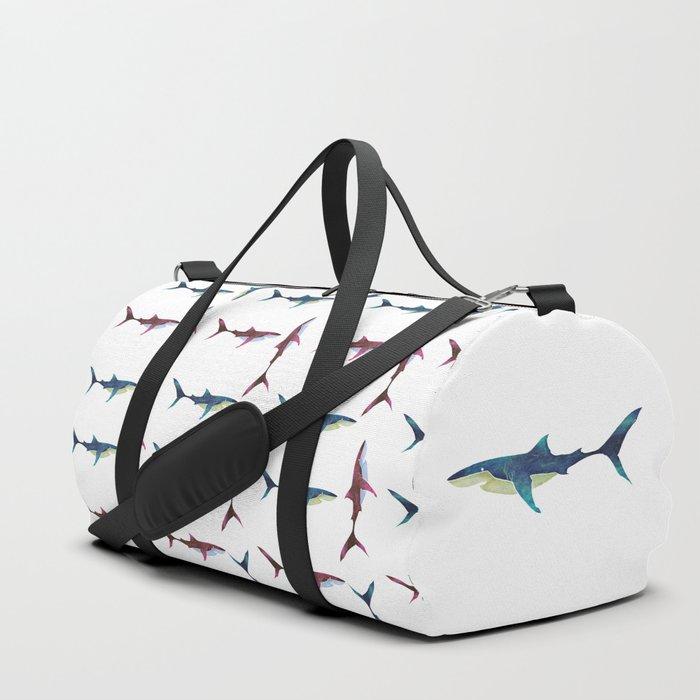Great White Shark Duffle Bag