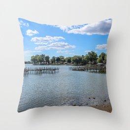 Buckeye Lake 2 Throw Pillow