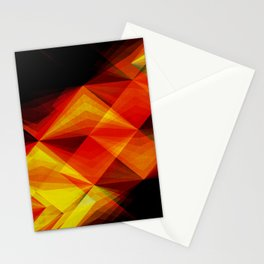 Koi Against the Current Stationery Cards