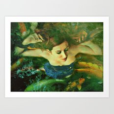 Opheliac Art Print