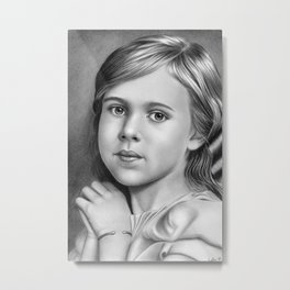 Child Portrait 01 Metal Print