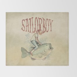 Sailorboy Throw Blanket