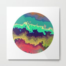 Vivid Planet 11 Metal Print