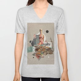 Spirited Royalty Unisex V-Neck
