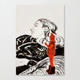 My little devil Canvas Print