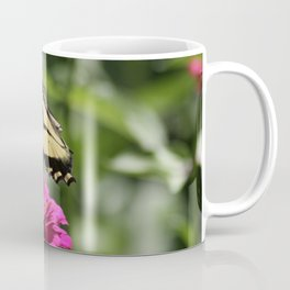 Colorful Swallowtail Butterfly Flying Coffee Mug