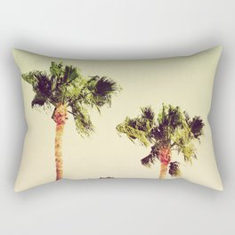 PASTEL PALM TREES no2 Rectangular Pillow