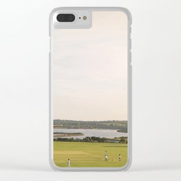 A Very English Scene. Clear iPhone Case