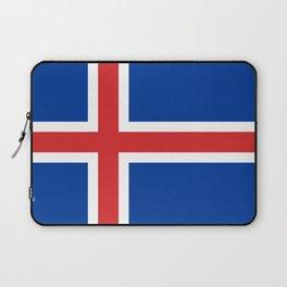 National flag of Iceland Laptop Sleeve